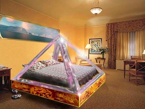 La mejor cama de todos los tiempos y culturas piramicama - Orientacion cama dormir bien ...